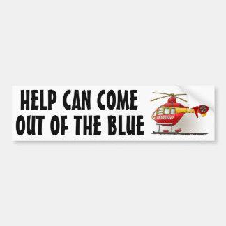 De Sticker HCOB van de Bumper van de Ziekenwagen v