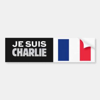 De Sticker Je Suis CHARLIE van de bumper met