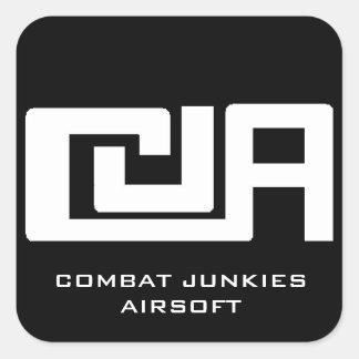 De sticker van Airsoft van de Junkies van het
