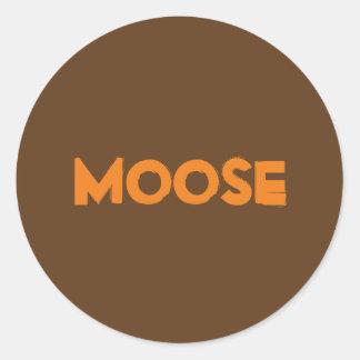 De Sticker van Amerikaanse elanden
