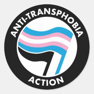 De Sticker van anti-Transphobia Antifa
