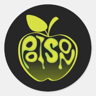 De Sticker van Apple van het vergift