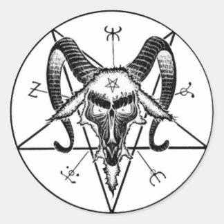 De Sticker van Baphomet