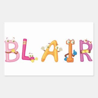 De Sticker van Blair