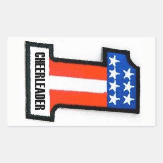 De Sticker van Cheerleader Moto van de anarchie