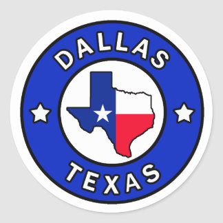 De Sticker van Dallas Texas