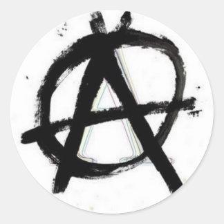 De Sticker van de anarchie