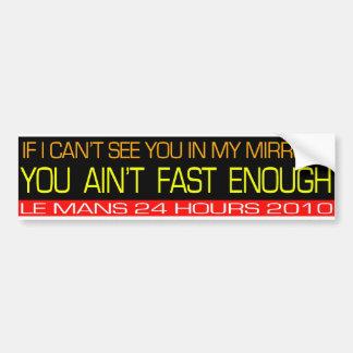De Sticker van de Auto van Le Mans