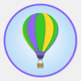 De Sticker van de Ballon van de hete Lucht