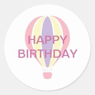 De Sticker van de Ballon van de verjaardag