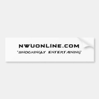 De Sticker van de bumper