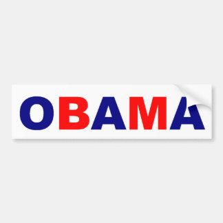 De Sticker van de Bumper OBAMA