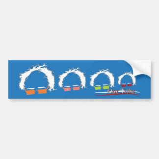 De Sticker van de bumper - Onze Stam Bernie Family