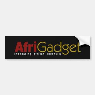 De Sticker van de Bumper van AfriGadget Bumpersticker
