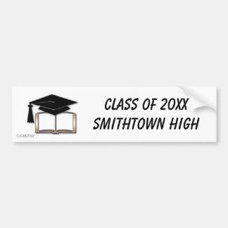 De Sticker van de Bumper van afstuderen