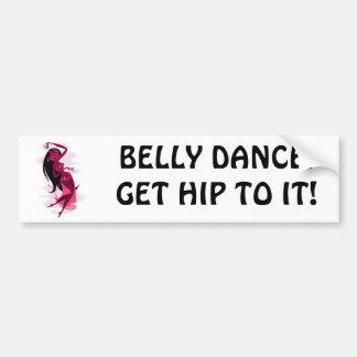 De Sticker van de Bumper van Bellydance