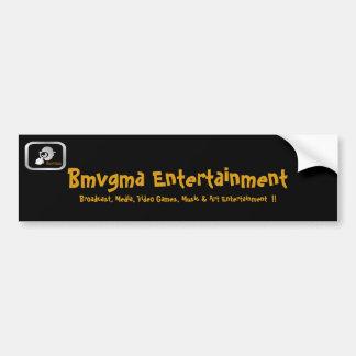 De Sticker van de Bumper van Bmvgma met logo en Bumpersticker