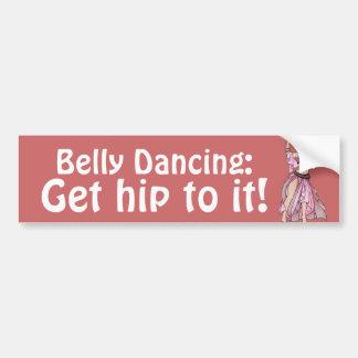 De Sticker van de Bumper van buikdansen