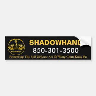 De Sticker van de Bumper van Chun van de Vleugel v