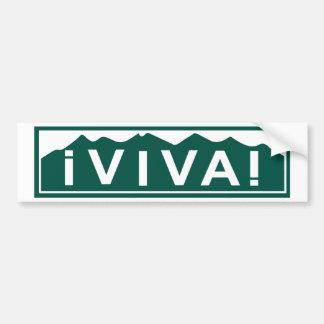 De Sticker van de Bumper van Colorado van Viva