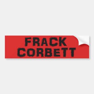 De Sticker van de Bumper van Corbett van Frack v.2
