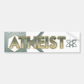 De Sticker van de Bumper van de atheïst