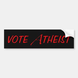 De Sticker van de Bumper van de Atheïst van de ste