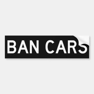 De Sticker van de Bumper van de AUTO'S van het