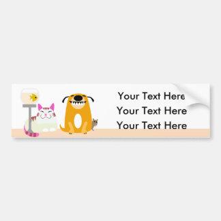 De Sticker van de Bumper van de Babysitter van het Bumpersticker