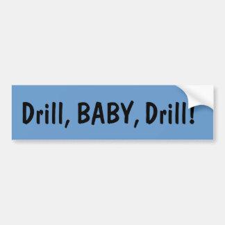 De Sticker van de Bumper van de Boor van het Baby