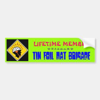 De Sticker van de Bumper van de Brigade van het Pe