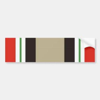 De Sticker van de Bumper van de Campagne van Irak