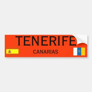 De Sticker van de Bumper van de Canarische