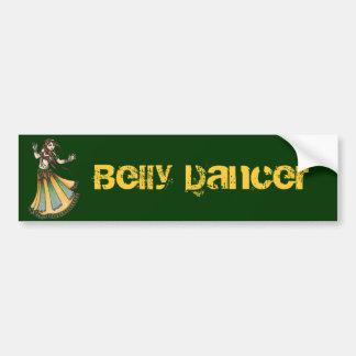 De Sticker van de Bumper van de Danser van de buik