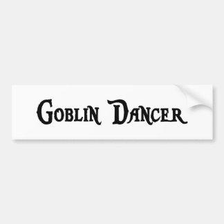 De Sticker van de Bumper van de Danser van de kobo