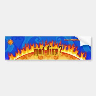 De Sticker van de Bumper van de draaikolk