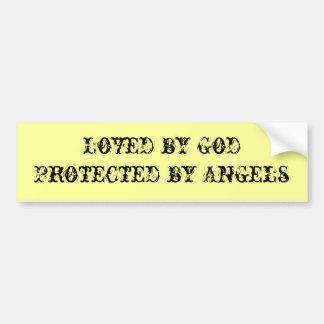 De Sticker van de Bumper van de engel