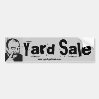 De Sticker van de Bumper van de garage sale