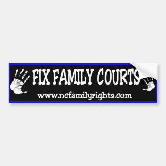 De Sticker van de Bumper van de Hof van de Familie Bumpersticker