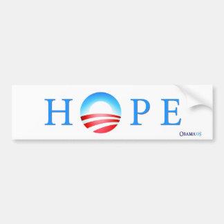 De Sticker van de Bumper van de Hoop van Obama van
