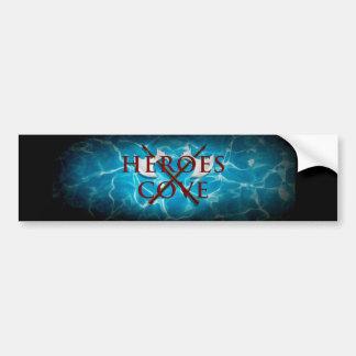 De Sticker van de Bumper van de Inham van helden Bumpersticker
