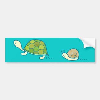 De Sticker van de Bumper van de Kunst van de Krabb