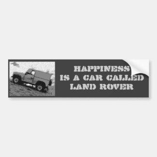De sticker van de Bumper van de Landrover