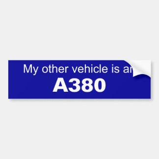 De Sticker van de Bumper van de luchtvaart Bumpersticker