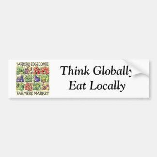 De Sticker van de Bumper van de Markt van Landbouw