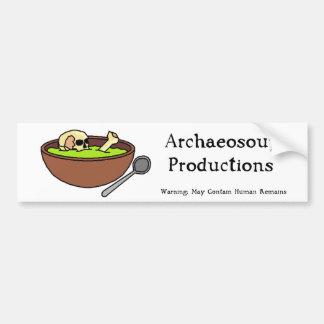 De Sticker van de Bumper van de Productie van Arch