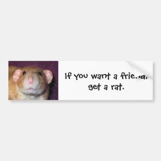 De Sticker van de Bumper van de Rat van Dumbo