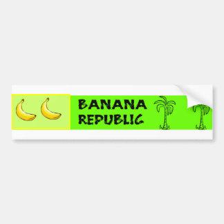 De Sticker van de Bumper van de Republiek van de b