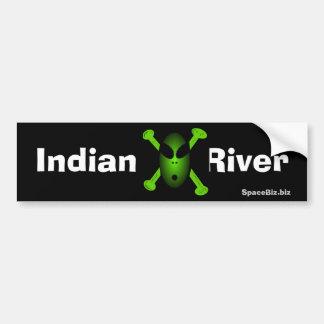 De Sticker van de Bumper van de Rivier van Inian