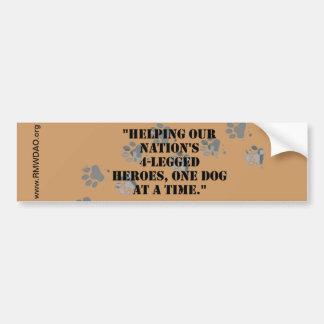 De Sticker van de Bumper van de Slogan RMWDAO